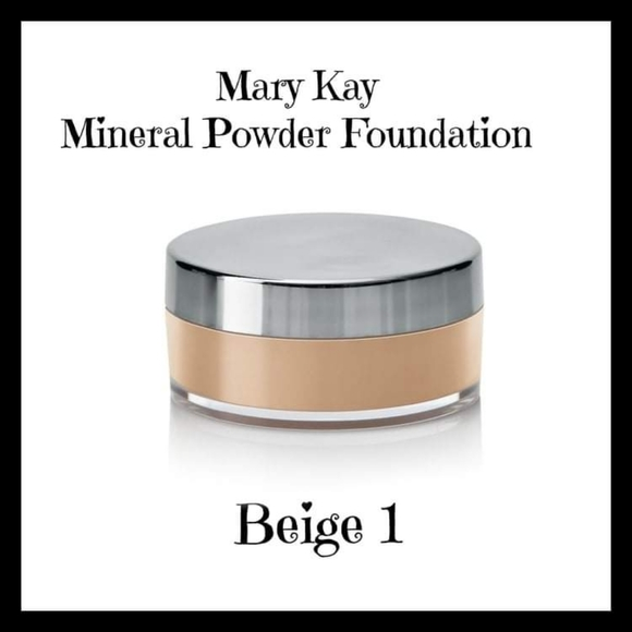 Mary Kay Mineral Powder Foundation Beige 1.